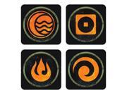 The Legend Of Kora Coaster Set