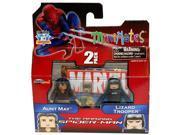 Marvel Minimates Amazing Spiderman Series 46 Aunt May & Lizard Trooper 9SIA0190C82635