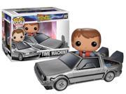 Back to the Future DeLorean Time Machine Pop! Vinyl Vehicle with Marty McFly Figure 9SIAADG4G11045