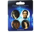 The Mortal Instruments City of Bones 4-Piece Button Set 9SIA0194AU3249