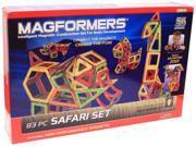 Magformers 3D 83 Piece Safari Build Set 9SIAD2459Z8860