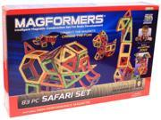 Magformers 3D 83 Piece Safari Build Set 9SIA00Y5209015