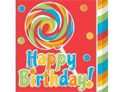 16 Pack Luncheon Napkins Sugar Buzz 9SIA01910T8359