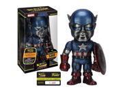 """Marvel Funko Hikari Titanium Captain America 8"""""""" Vinyl Figure"""" 9SIAD185S52778"""