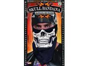 Biker Skull Face Costume Bandana Adult One Size 9SIAABM3X97248