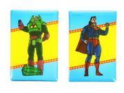 DC Comics Magnet Set: Superman and Lex Luthor 9SIA0196RS1601