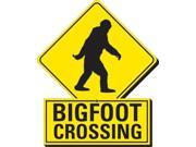Aquarius Bigfoot Crossing Funky Chunky Magnet 9SIAA764W00569