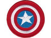 "Mini Patches - Captain America - Shield 2"""" Iron On New p-mvl-0044"" 9SIA77T2X23282"