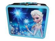 Lunch Box - Disney - Frozen Elsa Magic Blue New Licensed wdlb0115