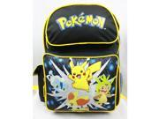 Backpack - Pokemon - Pikachu w/ Friends Large School Bag New 83124
