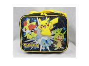 Lunch Bag - Pokemon - Pikachu w/ Friends Boys School Case New 83123