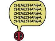 Patch - Marvel - Deadpool Chimichanga Iron On Gifts New Toys p-mvl-0029 9SIA77T2UE4746