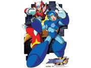 Fabric Poster - Mega Man X4 - New Mega Man and Zero Wall Scroll ge77680