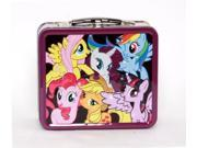 Lunch Box - My Little Pony - Multi Ponies New Metal Tin Case mlplb0005