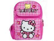 Backpack - Hello Kitty - Teddy Bear (Large School Bag) New Book Girls 81601 9SIA77T2KM6592