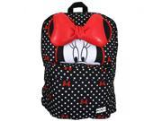 Backpack - Disney - Minnie Mouse Half Face Bows & Polka Dots New wdbk0107