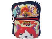 "Backpack - Yokai Watch - 16"" Large School Bag New 130842"