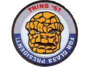 Patch - Marvel - Thing for President Iron On Licensed Gifts Toys p-3357 9SIA77T2M88095