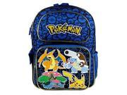 "Backpack - Pokemon - Pikachu Blue 16"" Large School Bag New 847125"