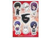 Sticker Tokyo Ghoul New SD Characters Mask Collection Toys ge55509