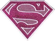 Patch - DC Comic - Superman - Supergirl Glitter Logo Iron On Toys p-dc-0026-g 9SIA77T2M88637