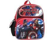 "Small Backpack - Marvel - Captain America Civil War 12"""" 657536"" 9SIA77T4677652"
