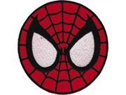 Patch - Marvel - Spiderman Mask Circle Iron On Licensed Gifts Toys p-spi-0021 9SIA77T2M88131
