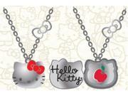Necklace - Hello Kitty - New Sanrio 3D Metal locket W/ Enamel sann0057