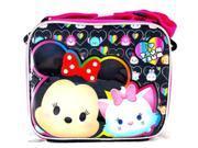 Lunch Bag - Disney - Tsum Tsume Black New 134383