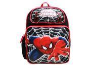 Medium Backpack - Marvel - Spiderman Web Black New A05767 9SIA77T4FR5551