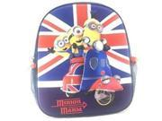 "Mini Backpack - Despicable Me - 3D Minions Mania 10"""" New 125855"" 9SIA77T4C24173"