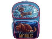 "Backpack - The Secret Life of Pets - My Place My Rule 16"" New 136615"