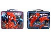 Lunch Box - Marvel - Spiderman - In the City Metal Tin New 707637 (1 style Only) 9SIA77T2KW0411