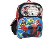 "Backpack - Marvel - Spiderman - Silver 16"""" Large School Bag New 657147"" 9SIA77T5PN0723"