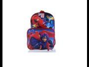 Backpack - Disney - Big Hero 6 Hiro and Baymax w/Lunch Bag New 054990 9SIA77T33D9517
