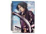 Notebook: Hakuoki Season 2 - Toshizo Hijikata GE Animation 9SIA77T2MH7796
