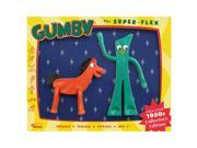 """Action Figures - Gumby - 50s Edition 6.5"""""""" Gumby & Pokey Bendable gp-125"""" 9SIA77T4FH4677"""