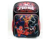 "Backpack - Marvel - Spiderman Group Black 16"""" School Bag New US28266"" 9SIA77T4NJ8111"