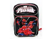 Backpack - Marvel - Spiderman Activity Black Large School Bag New us24754 9SIA77T2MC8005