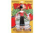"""Action Figures - Popeye Olive Oly 6"""""""" Bendable Rubber Toys New pb-1410"""" 9SIA77T3GJ7080"""