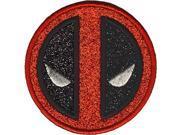 Patch - Marvel - Deadpool - Icon Logo Glitter Iron-On p-mvl-0070-g 9SIA77T6Y84648