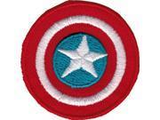 "Patch - Marvel - Captain America shield Logo 1"""" Mini Iron On p-mvl-0038"" 9SIA77T6Y84537"