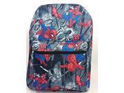 Backpack - Marvel - Spiderman Black School Bag New 694531 9SIA77T57N6982