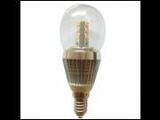 LED Light 7 Watt E14 Base LED Globe Bulb Cool White 5500 - 6000k Chandelier Light Bulbs 9SIA77Y3V58567