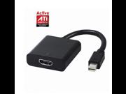 Active mini DisplayPort DP to HDMI Video Audio adapter support ATI Eyefinity