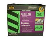 4/PACK M-D BUILDING PRODUCTS 71550 BACKER ROD PRO PACK 3/8 X 350