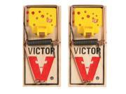Woodstream Victor Rodnt D-Victor Easy Set Mouse Trap 2 Pack