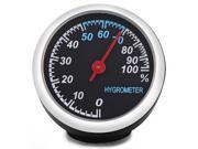 Mechanics Car Hygrometer Digital for 12V Auto Time