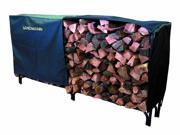 Heavy Duty Cover for 8' Log Rack (PVC with Polyster)