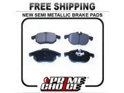 Prime Choice Auto Parts SMK972 Front Semi Metallic Brake Pad Set